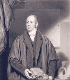 Portrait of William Buckland engraved by Samuel Cousins