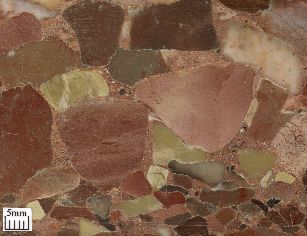 Clast-supported breccia