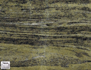 The pistachio green colour is due to epidote