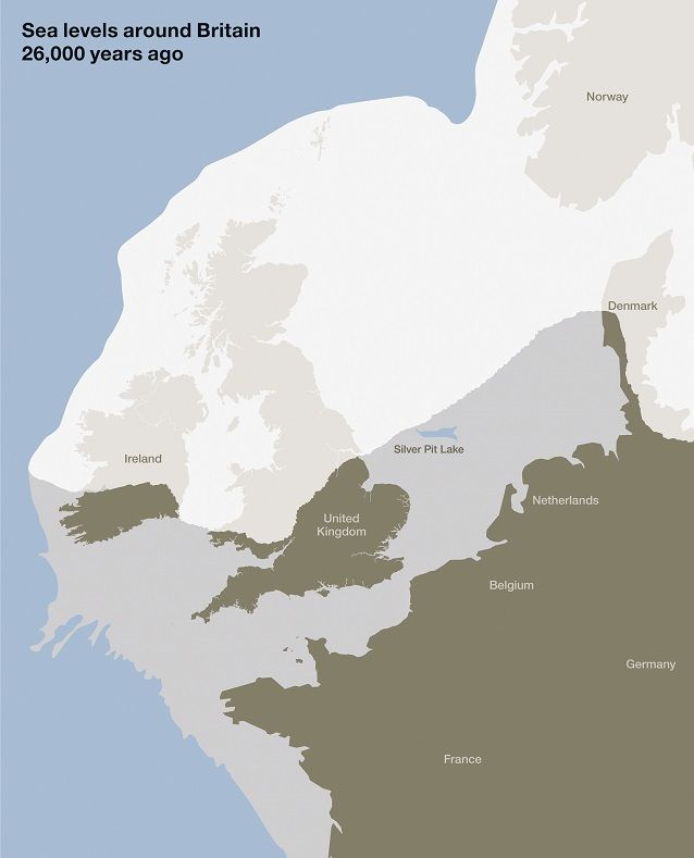 Map Of Uk 5000 Years Ago.Settlers Genetics Geography And The Peopling Of Britain