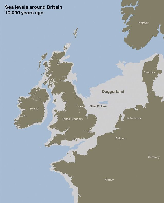 Map Of Ireland 900 Ad.Settlers Genetics Geography And The Peopling Of Britain